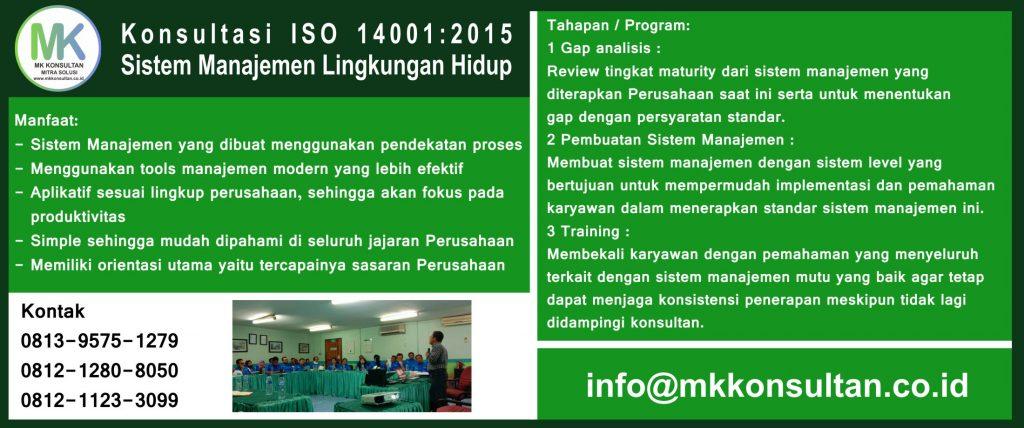 Konsultasi ISO 14001