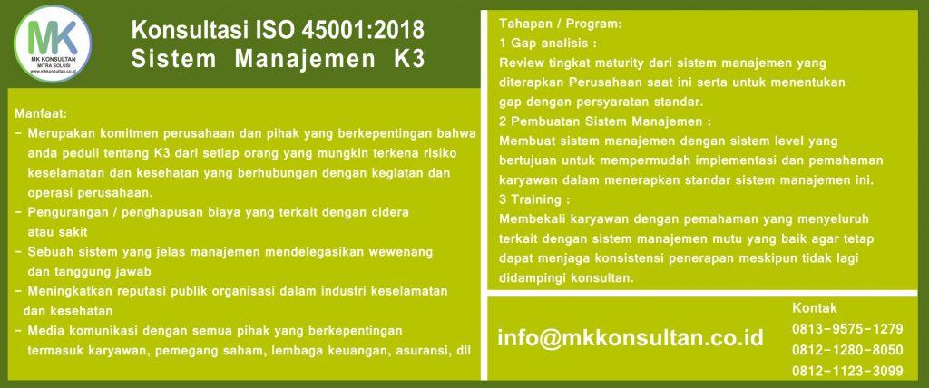 Konsultasi ISO 45001