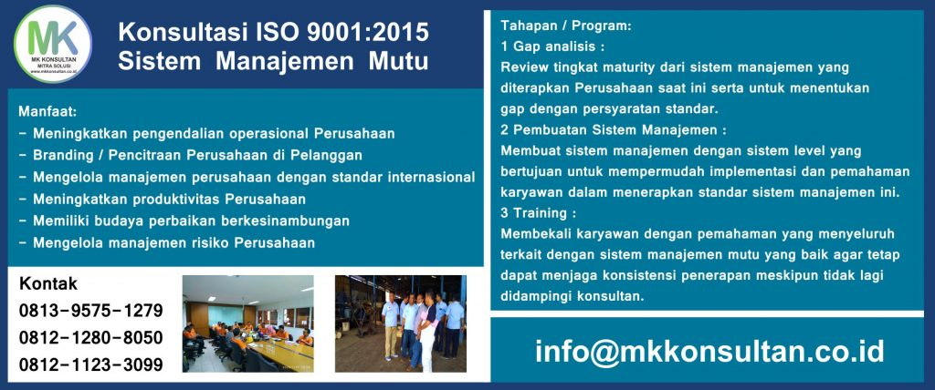 Konsultasi ISO 9001